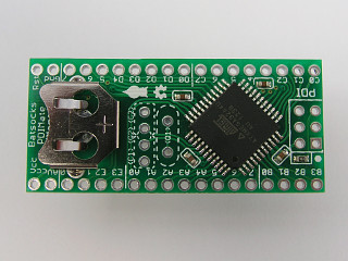 The vanilla XMega PDI board's topside