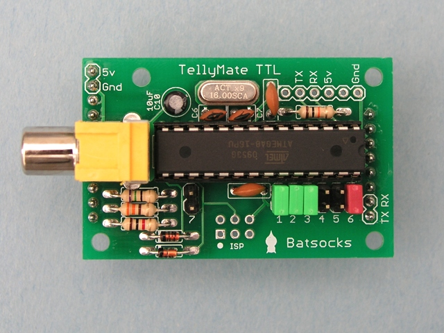 A completed TellyMate TTL Kit