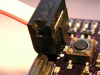 Prototype board with XMega PDI Header